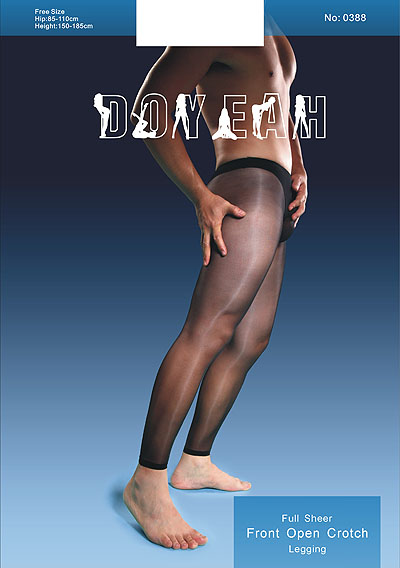 Doyeah 0388 Men's Footless Crotchless STW Tights