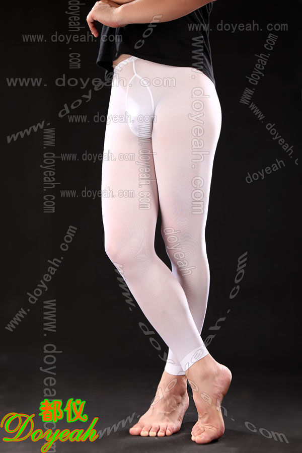 Doyeah 0398 Footless Tights with Male Pouch - Click Image to Close