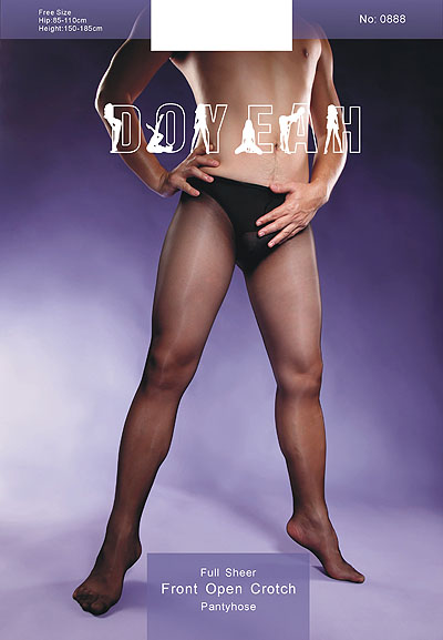 Doyeah 0888 STW Crotchless Men's Tights - Click Image to Close