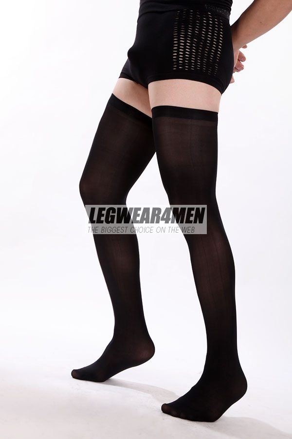 L4M 1010 Unisex Opaque Thigh-Highs