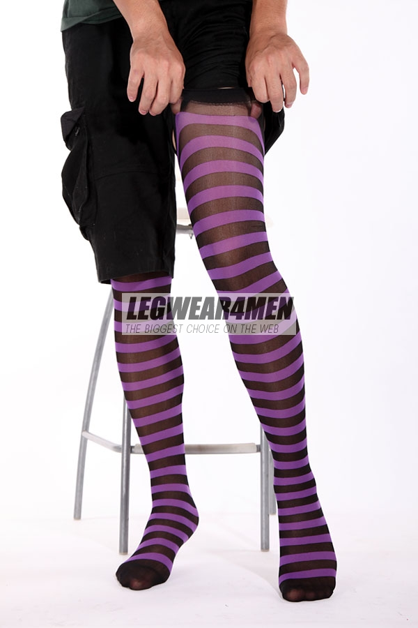L4M 1020 Unisex Opaque 'Shima-socks' - Click Image to Close