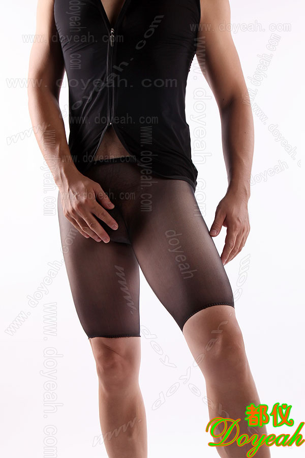 Doyeah 1058 Sheer 'Cycle Short' Briefs - Click Image to Close