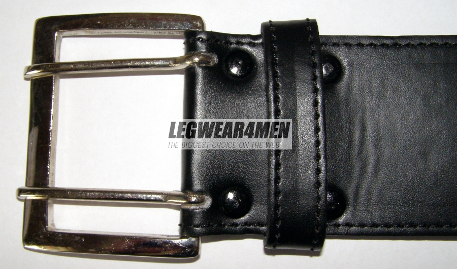 L4M 132 Wide Leather Belt
