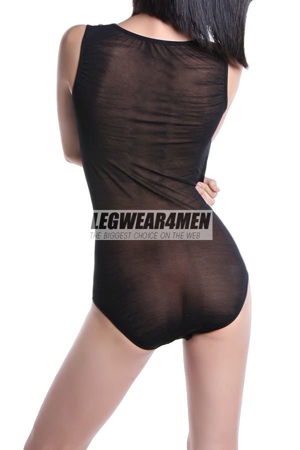L4M 260 20 Denier Sheer Bodysuit