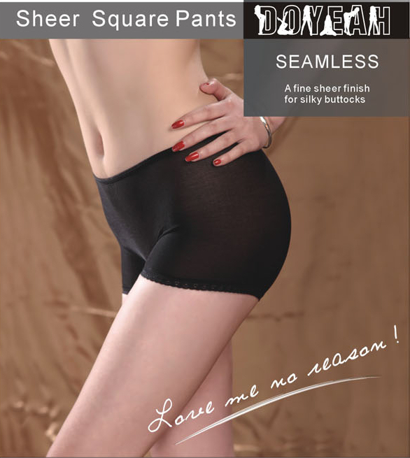 Doyeah 5238 Seamless Sheer Briefs - Click Image to Close