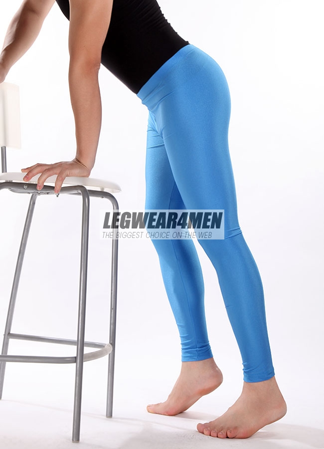 L4M 615 One-size Unisex Glossy Leggings - Click Image to Close