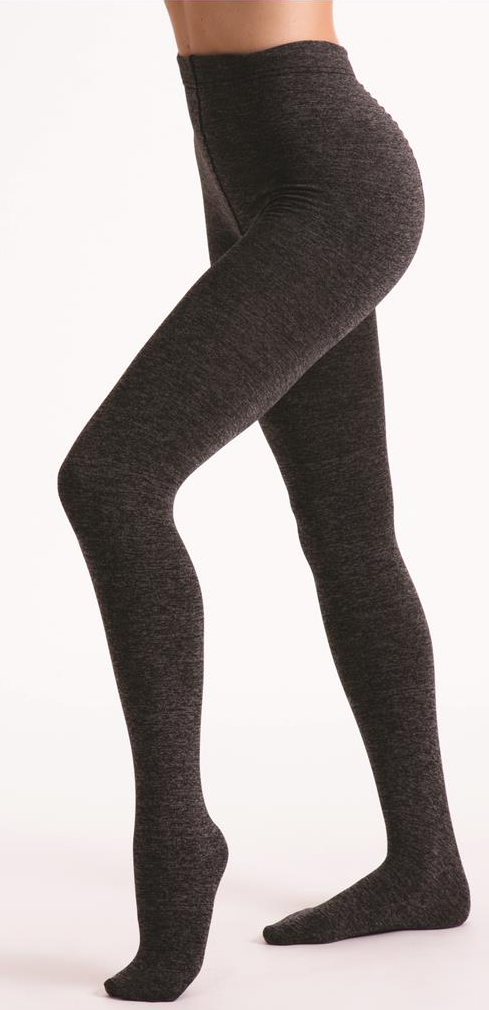 L4M 822 Fleece-lined Opaque Tights