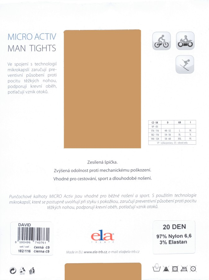 ELA David 20 Men's Tights