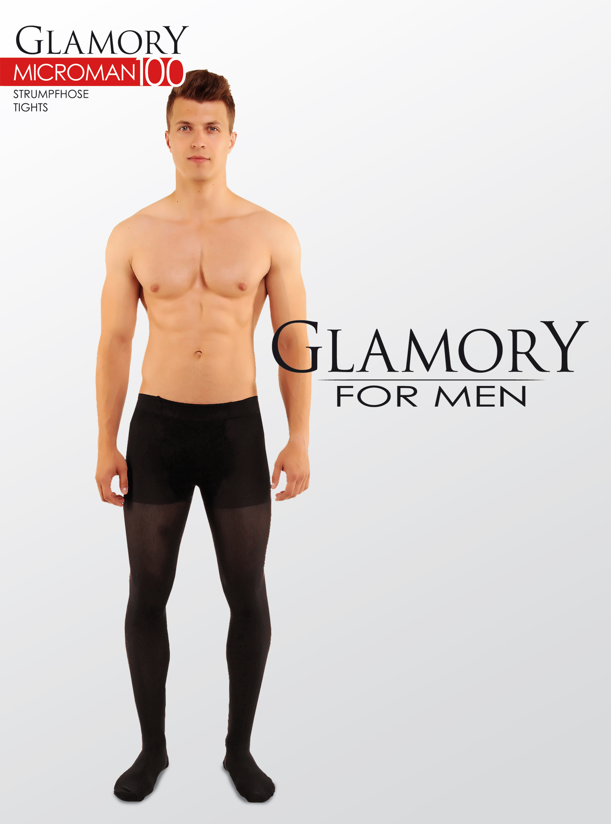 Glamory for Men Microman 100 Opaque Tights
