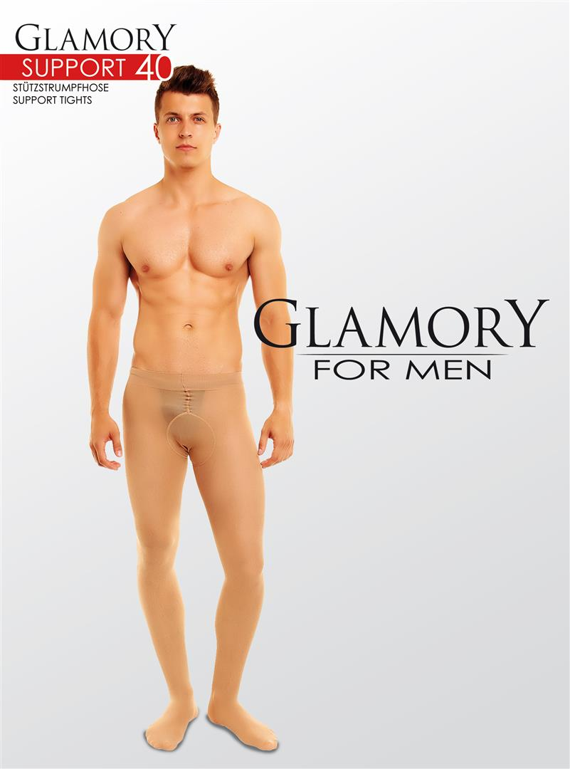 Glamory for Men Support 40 Sheer Tights