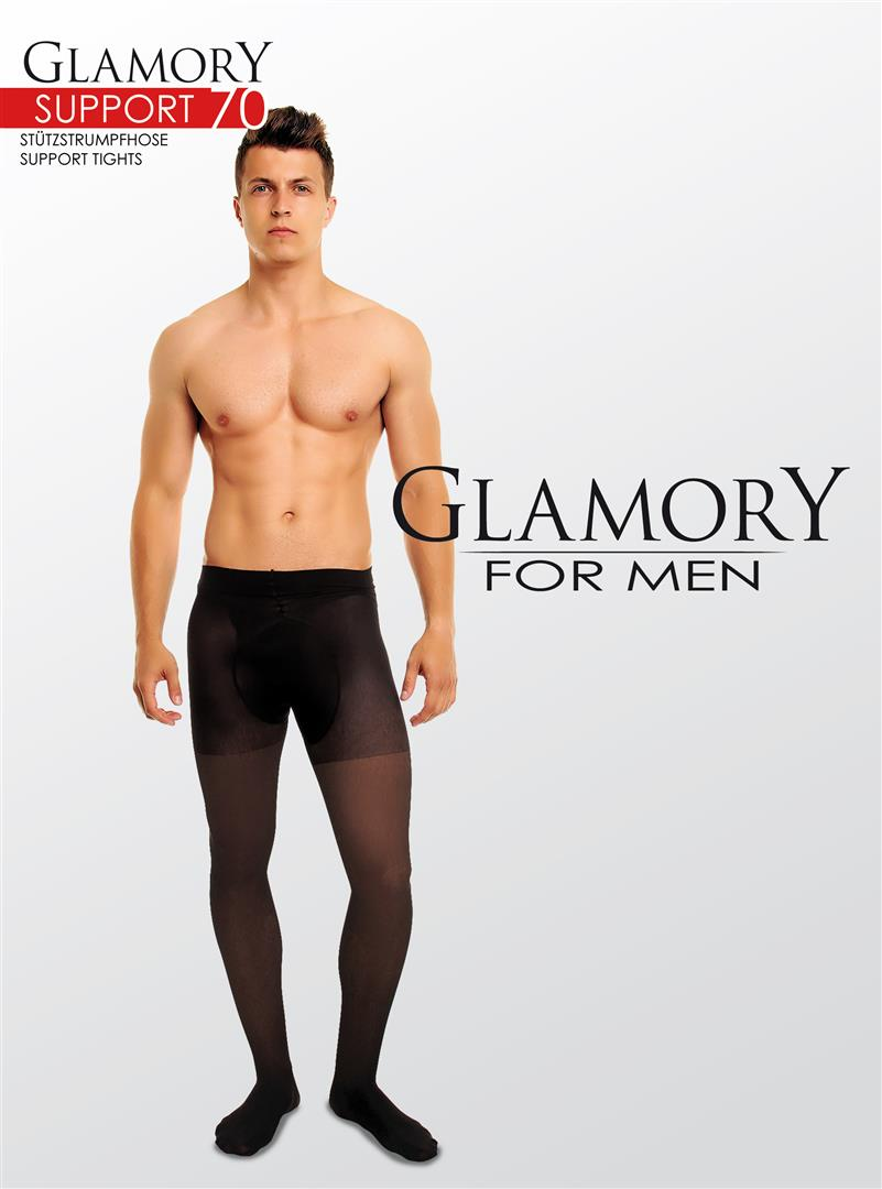 Glamory for Men Support 70 Sheer Tights