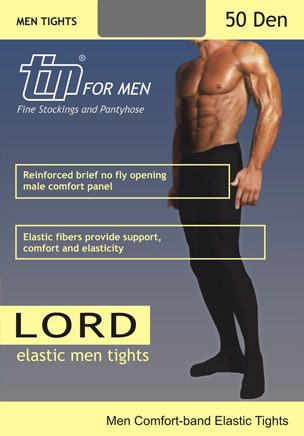 TIM Lord 50 Men's Opaque Tights - Click Image to Close